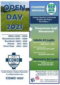 .Locandina open day